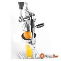 Citruspers hevelmodel verchr. met rvs perskom en -kegel