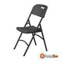 Catering stoel inklapbaar zwart