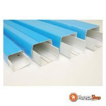 Optimal duct 80x60 mm 1 lng = 2m ral9003