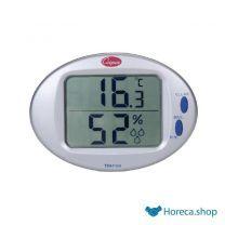 Digitale thermo- en vochtigheidsmeter 0°/+50°c + rv%