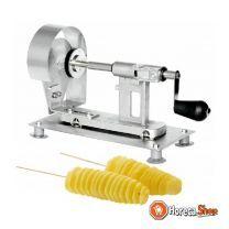 Aardappel twister maker - snij dikte 2,25mm - rvs - 34x15x(h)22cm