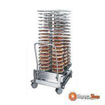 Bordenrek voor de 202   ruimte voor 100 borden   borden tot 310mm