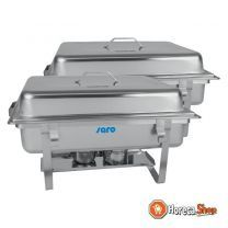 Chafing dish twin-pack modell elena