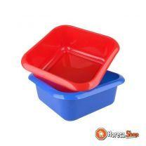 Afwasbak 10 liter vierkant